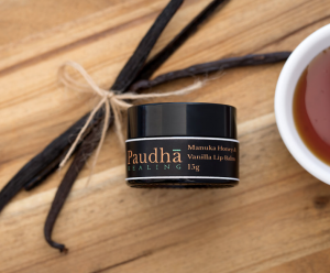 Paudha Healing -Manuka Honey & Vanilla Lip Balm