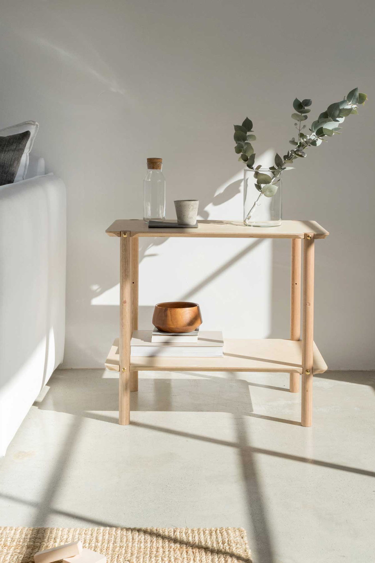 Eco Friendly side table Eco and Us